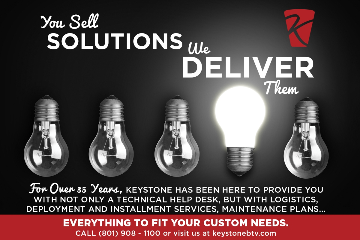 You Sell Solutions, We DeliverThem